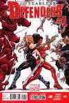 Fearless Defenders comic books