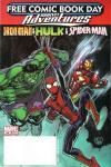 Free Comic Book Day 2008: Iron Man & Hulk & Spider-Man Comic Books. Free Comic Book Day 2008: Iron Man & Hulk & Spider-Man Comics.