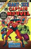 Giant-Size Captain Marvel Comic Books. Giant-Size Captain Marvel Comics.