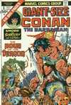 Giant-Size Conan comic books