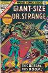 Giant-Size Doctor Strange comic books