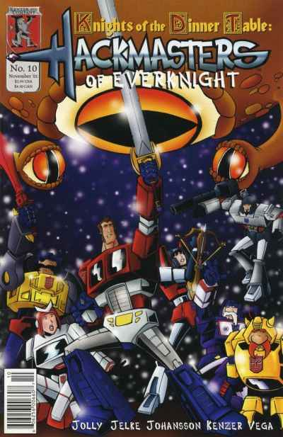 Hackmasters of Everknight #10 comic books for sale