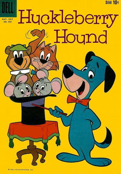 Huckleberry Hound Comic Books. Huckleberry Hound Comics.