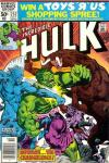 Incredible Hulk #252 comic books for sale
