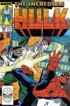 Incredible Hulk #349 comic books for sale