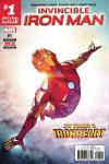 Invincible Iron Man comic books