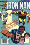 Iron Man #184 comic books for sale
