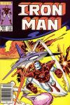 Iron Man #201 comic books for sale