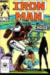 Iron Man #204 comic books for sale