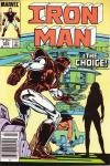 Iron Man #204 comic books for sale