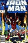 Iron Man #222 comic books for sale