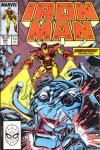 Iron Man #245 comic books for sale