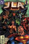 JLA comic books