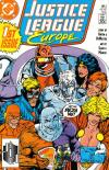 Justice League Europe comic books