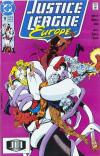 Justice League Europe #18 comic books for sale