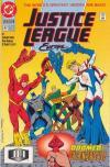 Justice League Europe #37 comic books for sale
