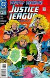 Justice League Europe #61 comic books for sale