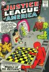 Justice League of America comic books