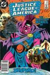 Justice League of America #251 comic books for sale