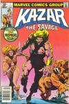 Ka-Zar the Savage #1 comic books for sale