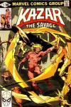 Ka-Zar the Savage #2 comic books for sale