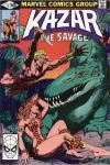 Ka-Zar the Savage #4 comic books for sale