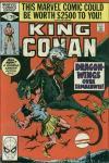 King Conan #3 comic books for sale