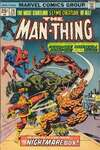 Man-Thing #20 comic books for sale