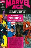 Marvel Age Preview Comic Books. Marvel Age Preview Comics.