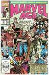 Marvel Age #93 comic books for sale