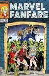Marvel Fanfare #25 comic books for sale