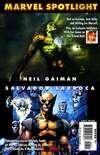 Marvel Spotlight: Neil Gaiman/Salvador Larroca Comic Books. Marvel Spotlight: Neil Gaiman/Salvador Larroca Comics.