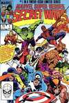 Marvel Super-Heroes Secret Wars comic books