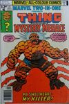 Marvel Two-In-One #31 comic books for sale