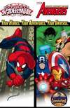 Marvel Universe Avengers and Ultimate Spider-Man Comic Books. Marvel Universe Avengers and Ultimate Spider-Man Comics.