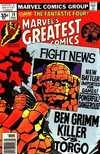 Marvel's Greatest Comics #74 comic books for sale