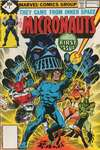 Micronauts #1 Comic Books - Covers, Scans, Photos  in Micronauts Comic Books - Covers, Scans, Gallery