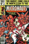 Micronauts #21 comic books for sale