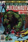 Micronauts #7 comic books for sale