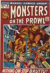 Monsters on the Prowl #18 comic books for sale