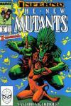 New Mutants #72 comic books for sale