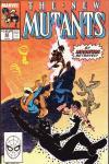 New Mutants #83 comic books for sale
