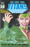 New Teen Titans #21 comic books for sale