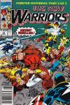 New Warriors #12 comic books for sale