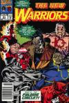 New Warriors #21 comic books for sale