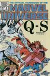 Official Handbook of the Marvel Universe #9 comic books for sale
