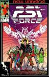 PSI-Force Comic Books. PSI-Force Comics.