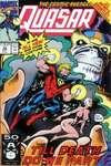 Quasar #26 Comic Books - Covers, Scans, Photos  in Quasar Comic Books - Covers, Scans, Gallery