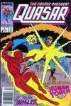 Quasar #3 Comic Books - Covers, Scans, Photos  in Quasar Comic Books - Covers, Scans, Gallery