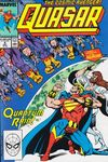 Quasar #4 Comic Books - Covers, Scans, Photos  in Quasar Comic Books - Covers, Scans, Gallery